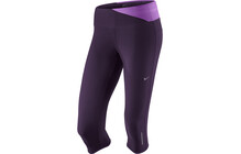 Nike Women's Twisted Capri grand purple/matte silver
